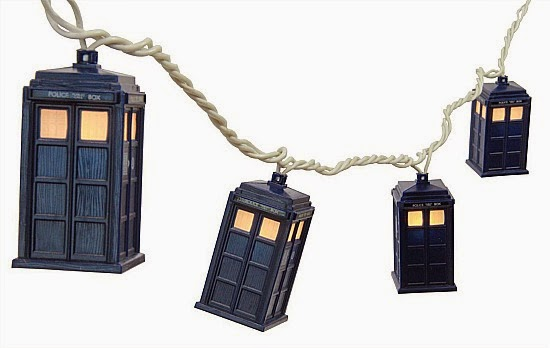 Doctor Who Tardis LED String Lights
