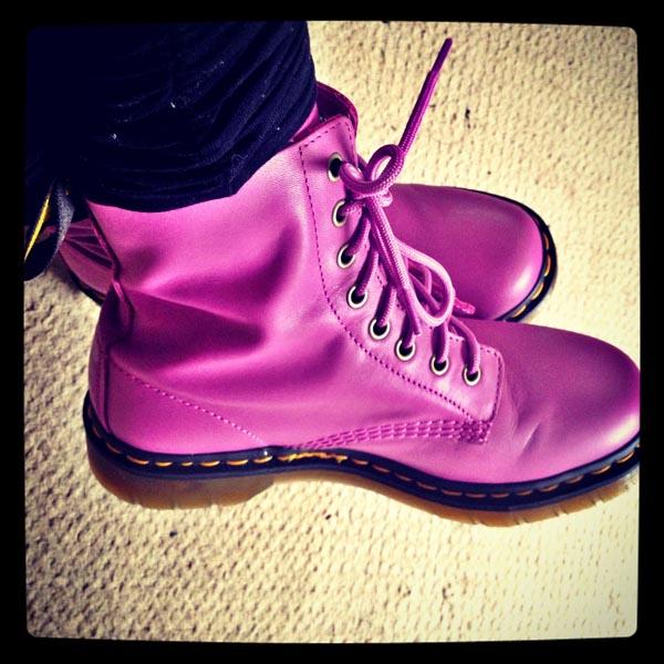 Dr Martens Blackcurrant Pascal Boots