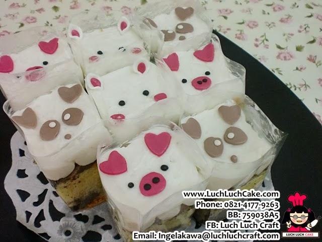 Mini Cake Babi dan Anjing Daerah Surabaya - Sidoarjo