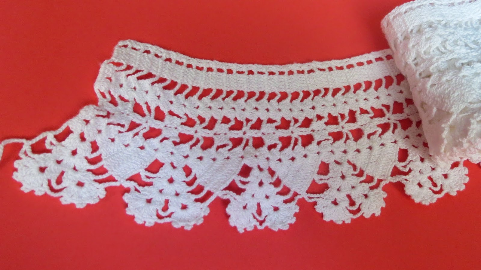 Sunshines creationsntage threads inc lace edging free pattern i figured it was a pretty simple pattern but elegant so i wanted to copy it and figured others might like it too bankloansurffo Image collections