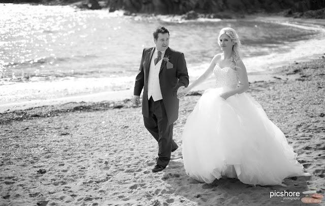 Talland Bay cornwall wedding Picshore Photography Wedding photographer cornwall