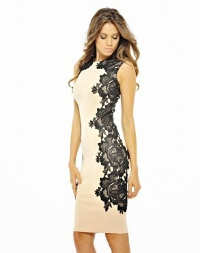 DressKode Nude Lace Dress Review