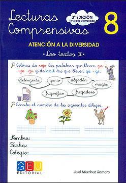 LECTURAS COMPRENSIVAS - 8