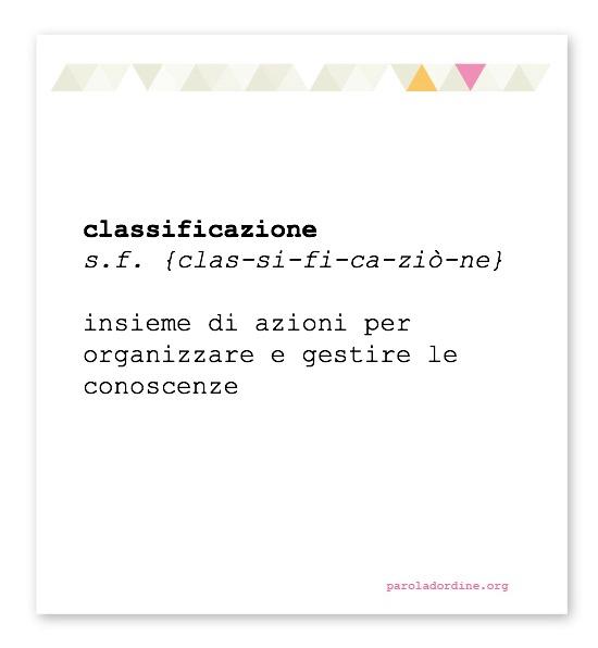 paroladordine-classificazione