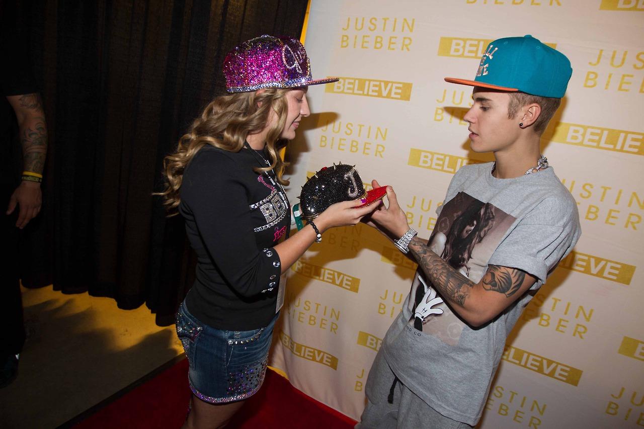 Justin Bieber Justin Bieber Vip Meet And Greet Dallas