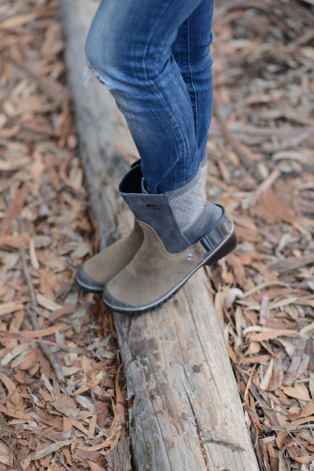 styling Sorel boots for fall, via M Loves M @marmar