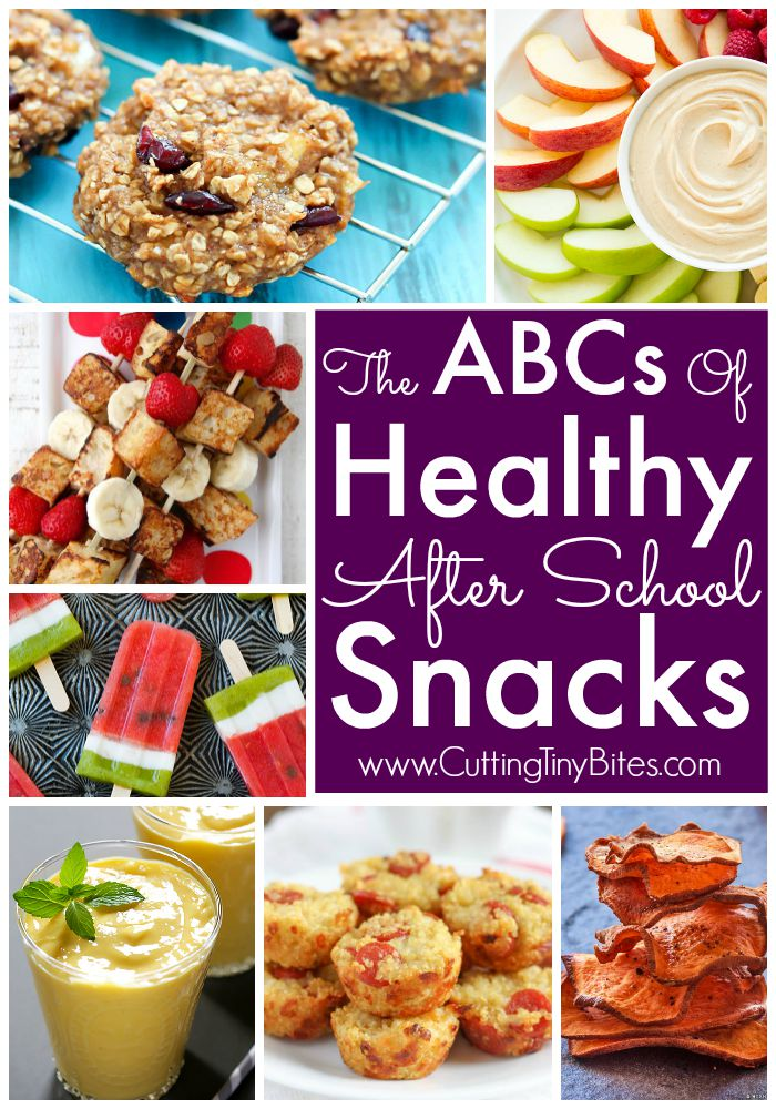 The abcs of healthy after school snacks for Easy after school snacks for kids to make