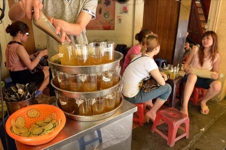 Lang thang trà chanh vỉa hè Hà Nội, diem an uong 365, diemanuong365