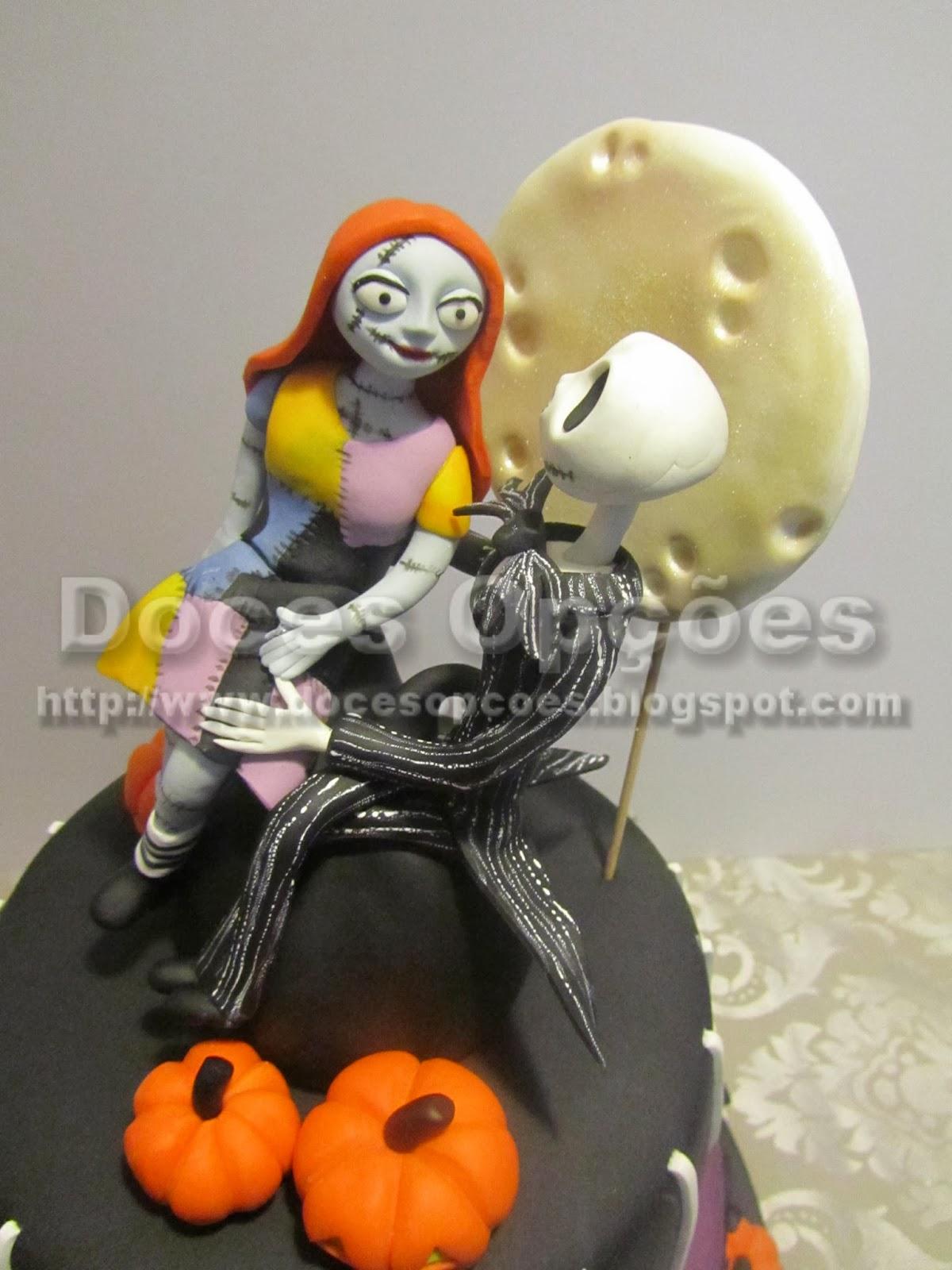 bolo halloween bragança