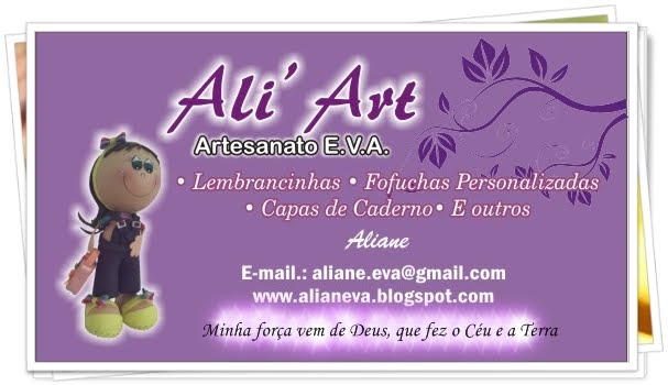 MEUS ARTESANATOS DE E.V.A