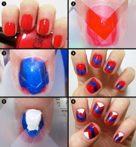 simple and easy stepstep nail art design tutorials of
