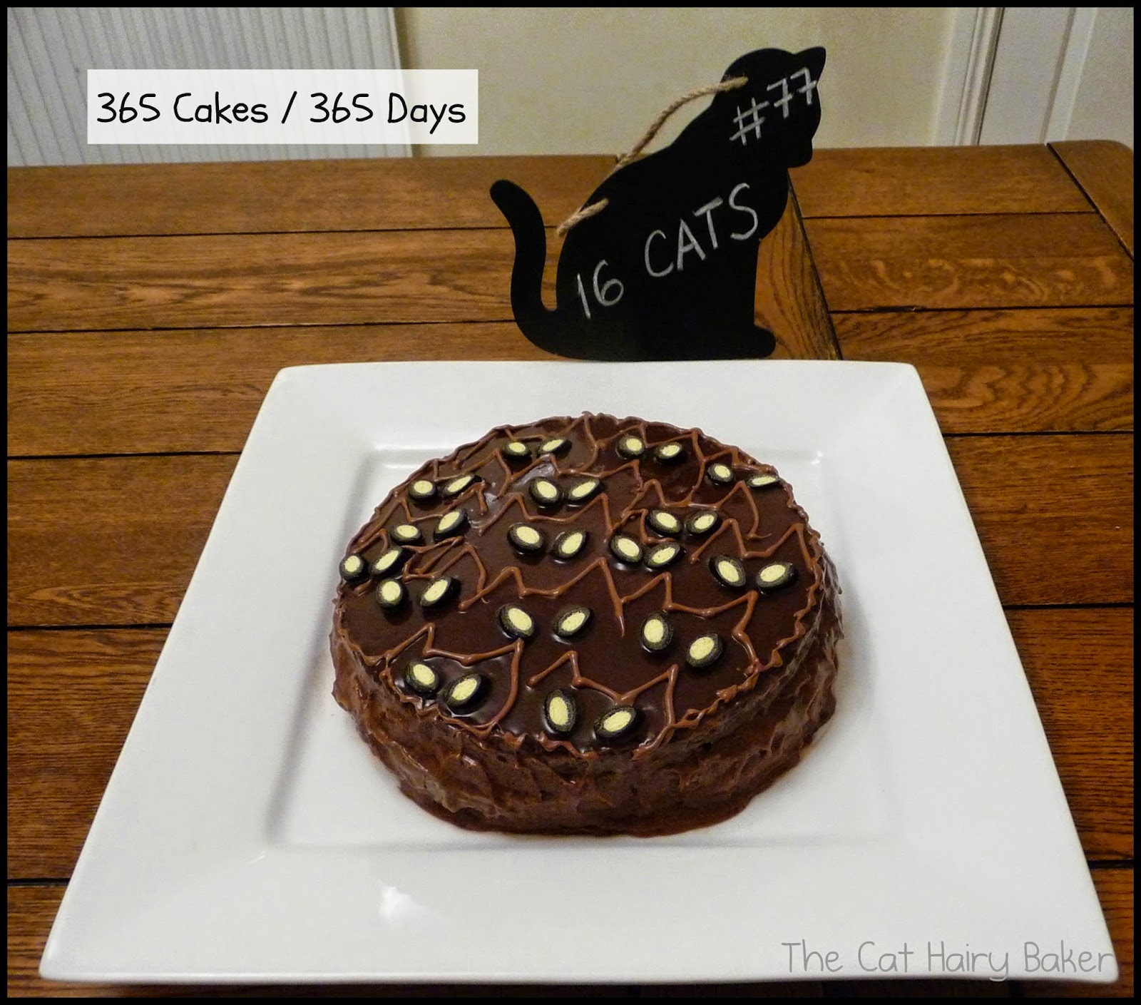 Thursday Cat Theme Cake