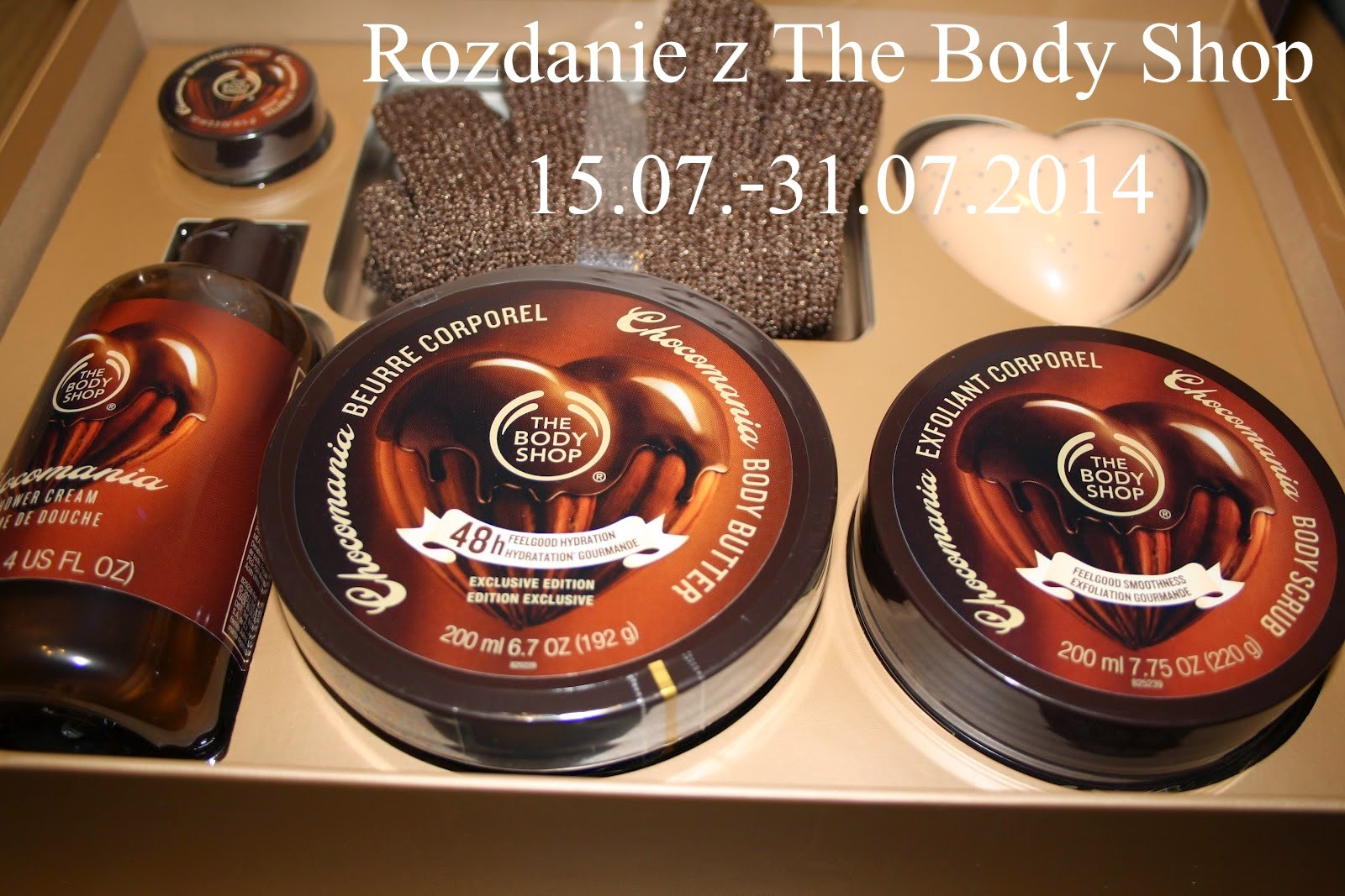 Rozdanie z The Body Shop
