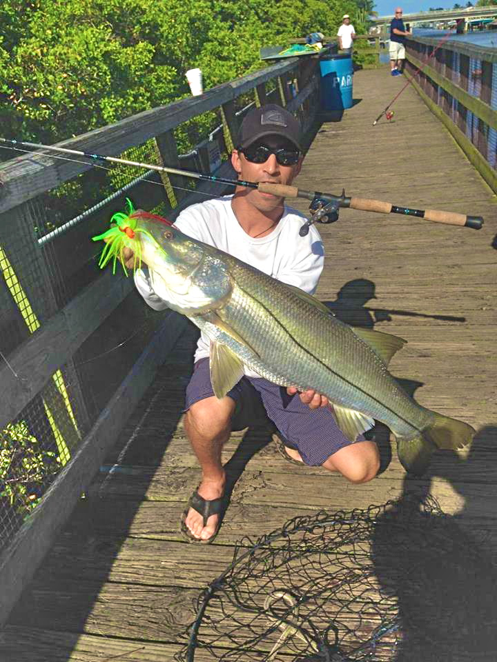 on foot angler: august 2015, Reel Combo