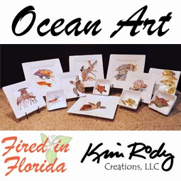 Ocean Art Dishes