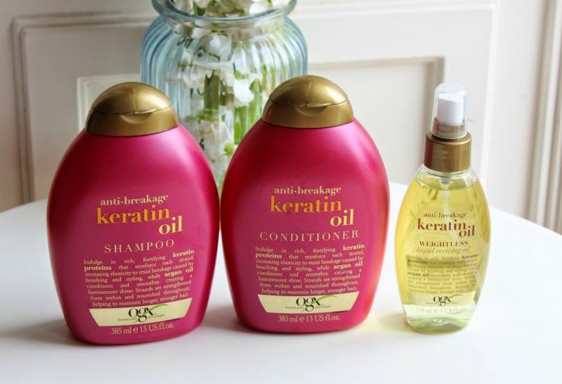 OGX Argan Oil Hair Care Collection