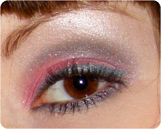 365 Days of Makeup, Colorful Makeup, Evening Makeup, Gray, Green, Natural Makeup, Pink, Summer Makeup