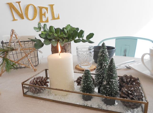 Mi mesa de desayuno en navidad la garbatella blog de - Centros de mesa navidenos faciles ...
