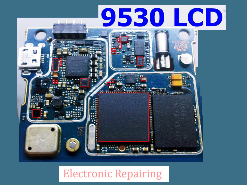 BLACKBERRY 9530 LCD problem