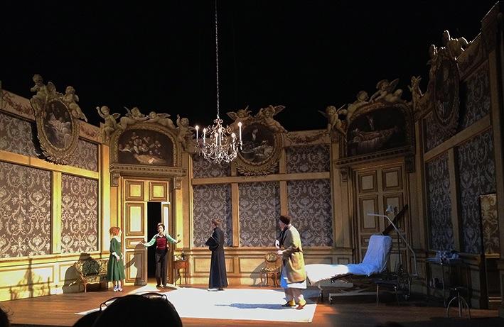 Le malade imaginaire th atre de carouge d cor jean marc for Decor de theatre