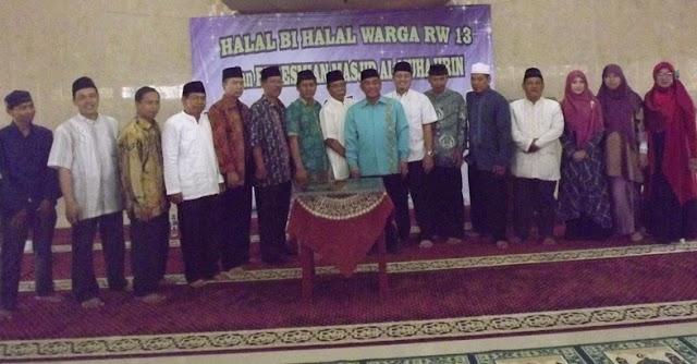 Idris Resmikan Masjid Al Muhajirin Bojongsari