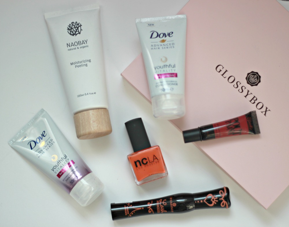 Glossybox UK contents March 2015