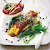 Crispy Japanese fish with pickled salad recipe