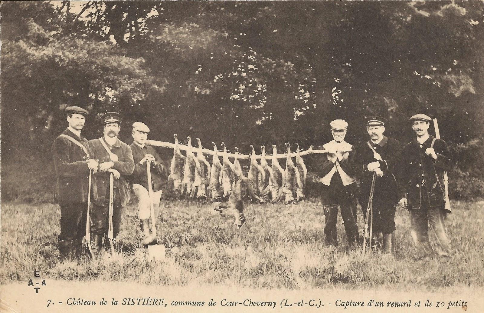 Scène de chasse - Cour-Cheverny