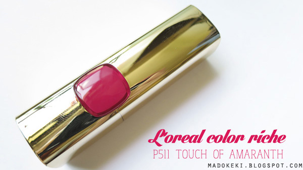 L'oreal Color Riche Lipstick P511 Touch of Amaranth