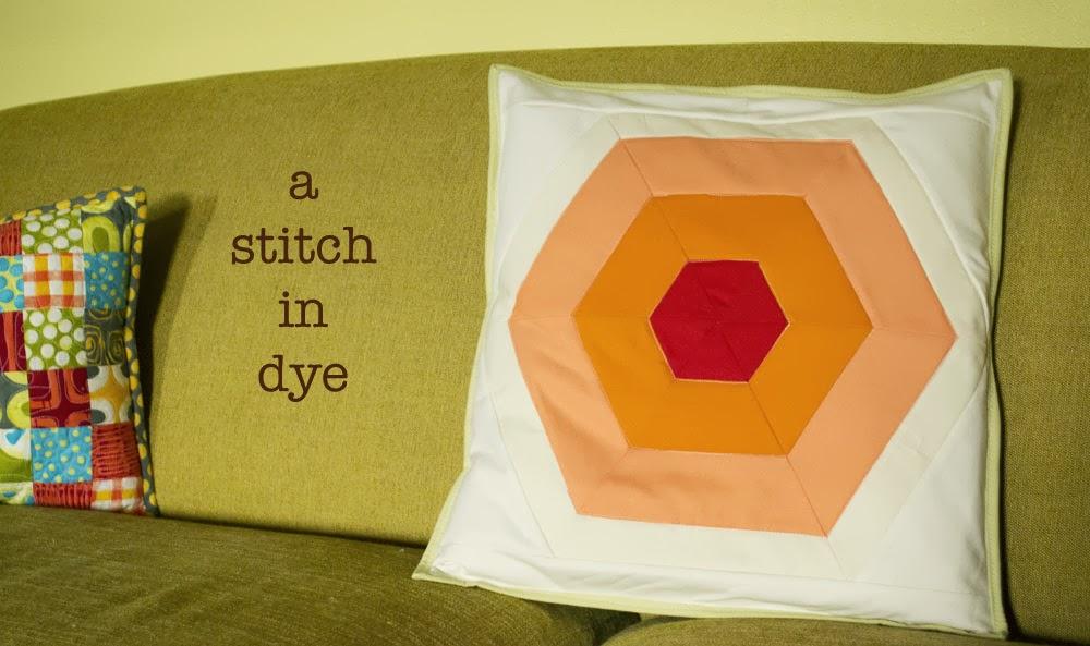 a stitch in dye
