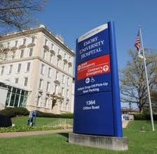 Emory Hospital in Atlanta