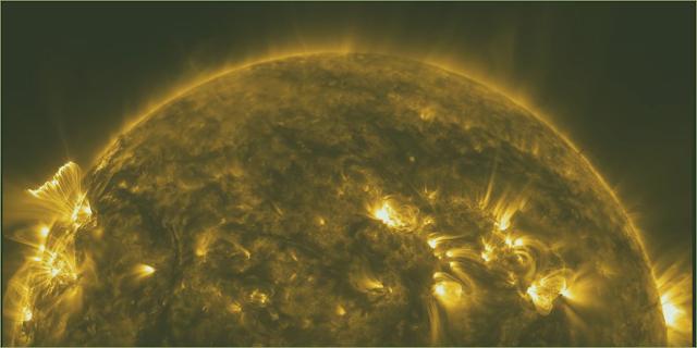 El sol en alta definición