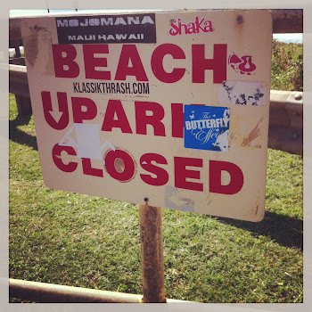 Beach Park Closed