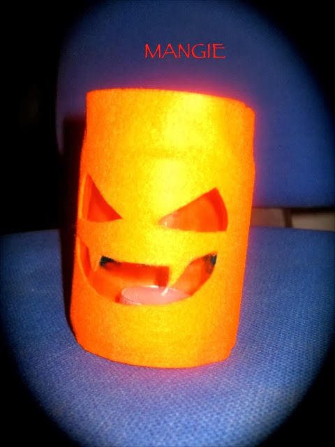 Luminaria Halloween calabaza