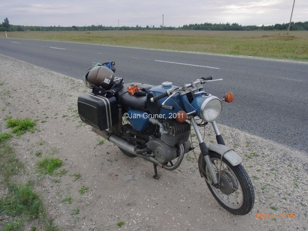 touren mit dem motorroller motorrad oder mit der mz ts 250 baujahr 1973 ins baltikum 22. Black Bedroom Furniture Sets. Home Design Ideas