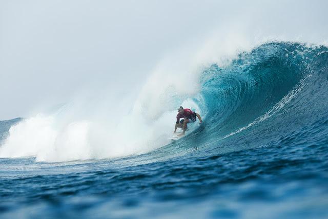 40 Bede Durbidge Billabong Pro Tahiti Foto WSL Stephen Robertson