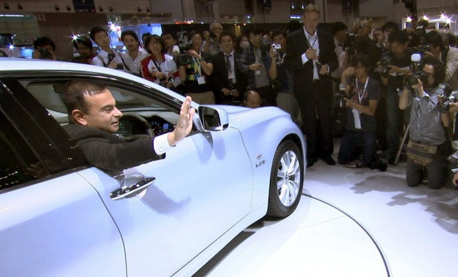 Carlos Ghosn at the Toyko Motor Show