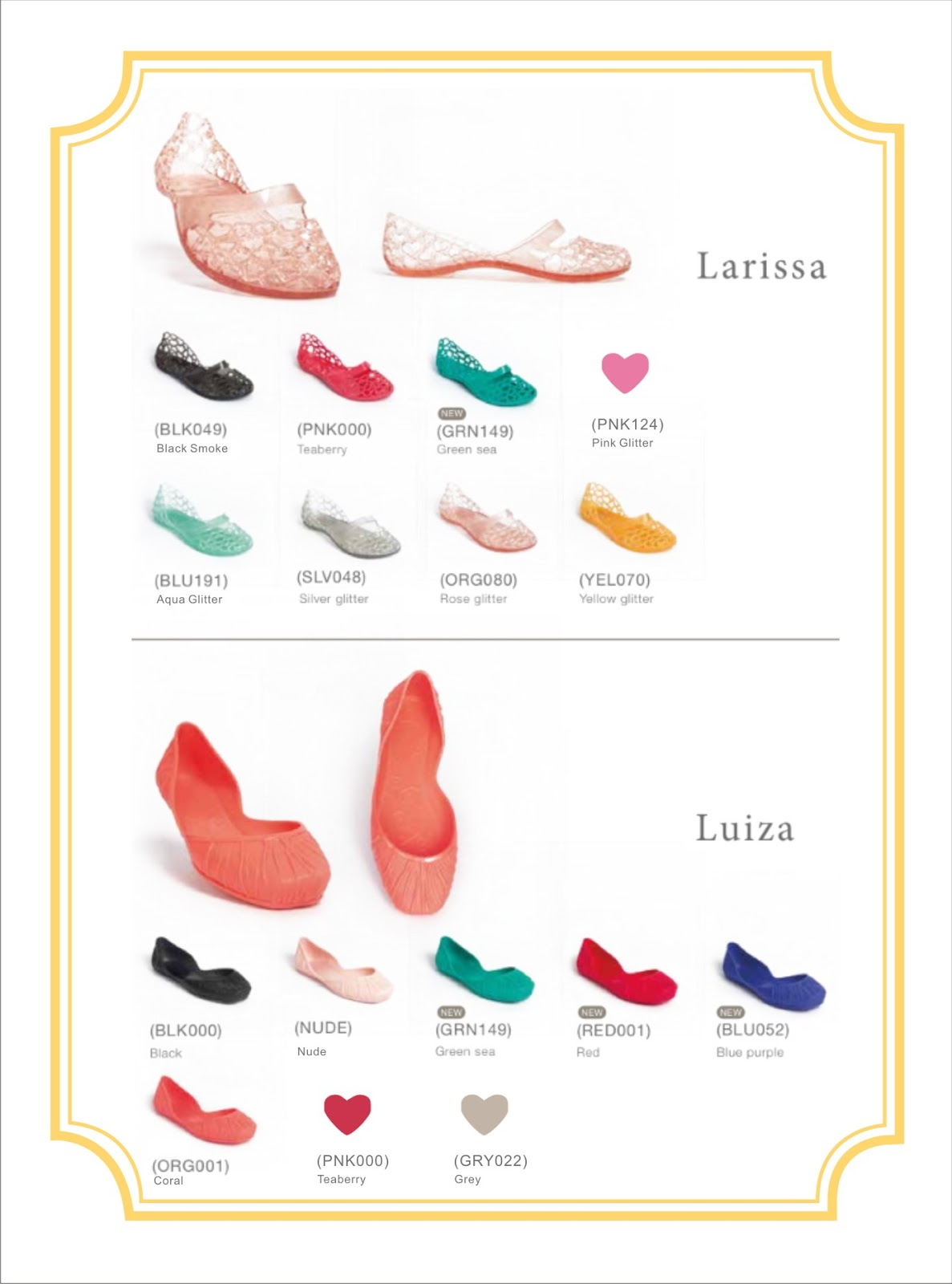 Jelly Bunny Black Shoes