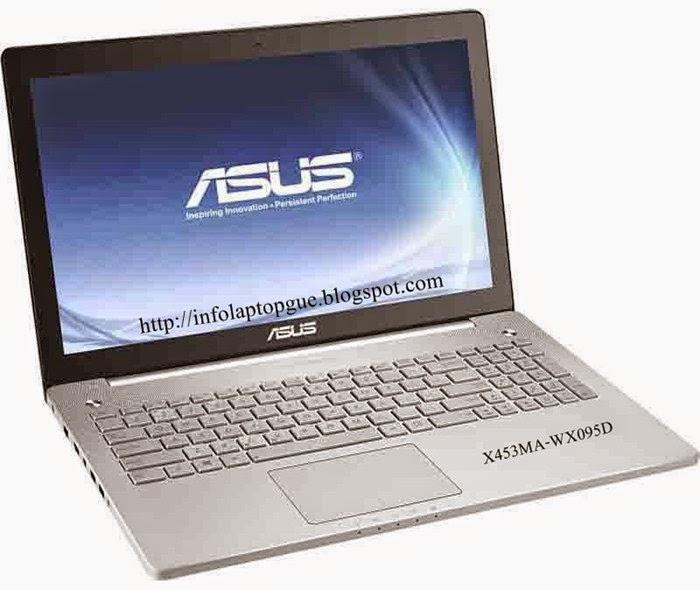 Harga & Spesifikasi Laptop ASUS Notebook X453MA-WX095D Terbaru