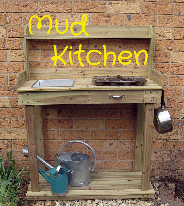 Happy Whimsical Hearts: Mud kitchen