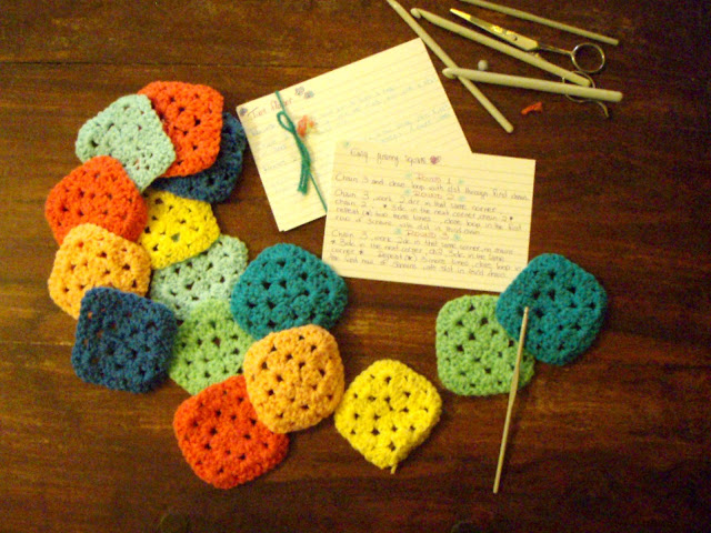 granny square crochet easy yarn