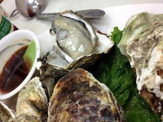 鴨角活海産,焼き牡蠣