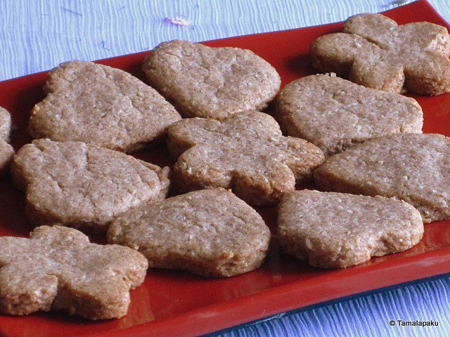 Ragi-Wheat-Oat Cookies