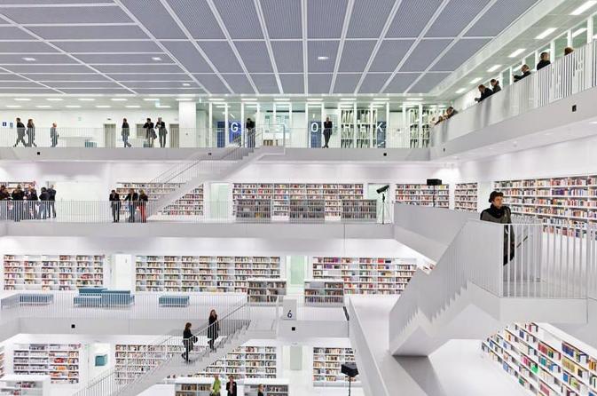 B a s b l o g de white box van stuttgart - Bibliotheques ontwerp ...
