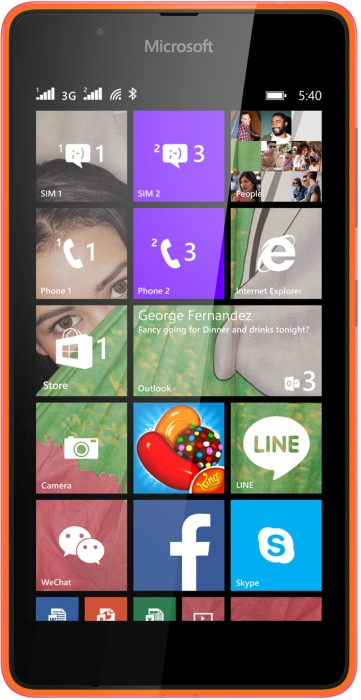 microsoft phone 2015 price. microsoft lumia 540 || smart / windows mobile phone full specifications and price in bangladesh 2015