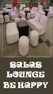 SALAS LOUNGE BE HAPPY