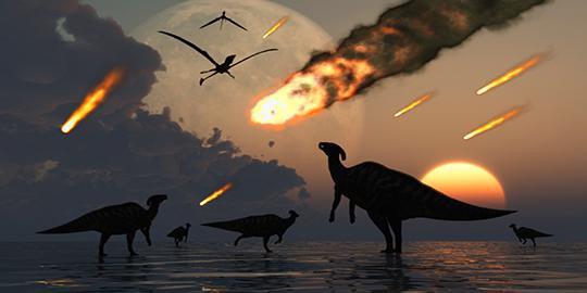 Asteroid bukan penyebab punahnya dinosaurus?