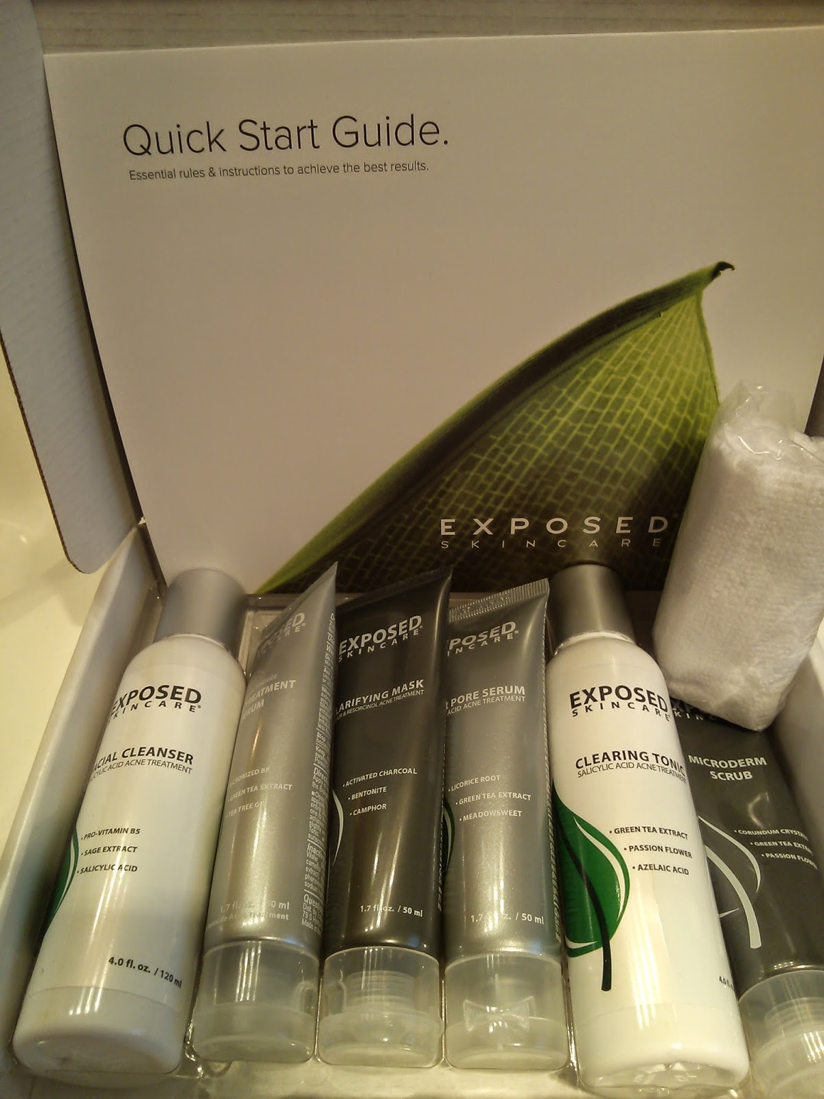 Exposed Skincare Clarifying Mask Review