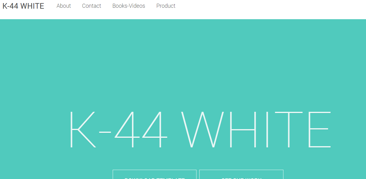 Download K44 White Responsive Free Blogger Template
