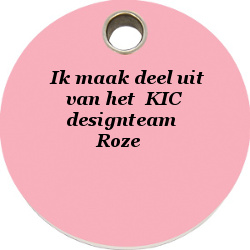 Badge Designteam Roze
